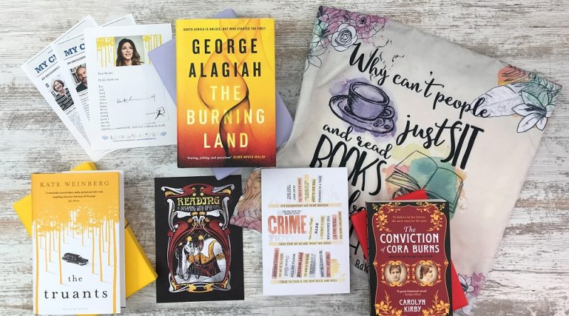 Crime & mystery book subscription box - November 2019 2