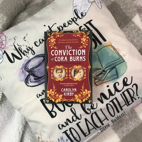 Crime & mystery book subscription box - November 2019 - The Conviction of Cora Burns - Carolyn Kirby 2