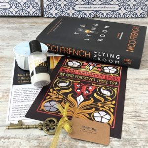 Crime & mystery monthly book subscription box - November 2019 - The Lying Room - Nicci French