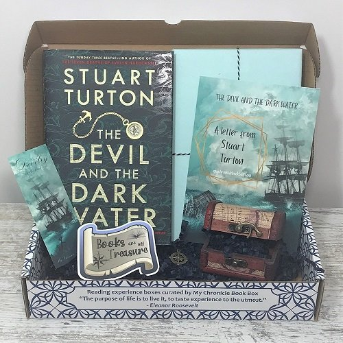 The Devil and the Dark Water - Stuart Turton - Oct book box