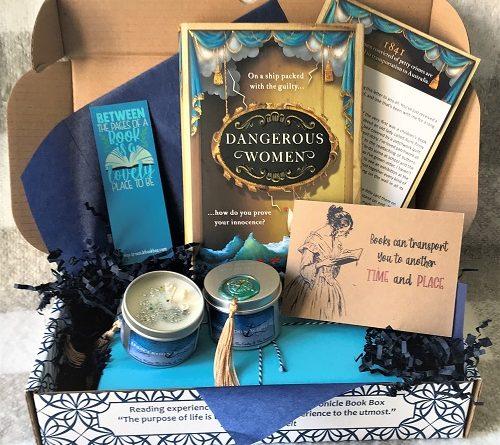 Dangerous Women Hope Adams April book box historical crime