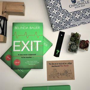 Exit Belinda Bauer Crime book subscription box