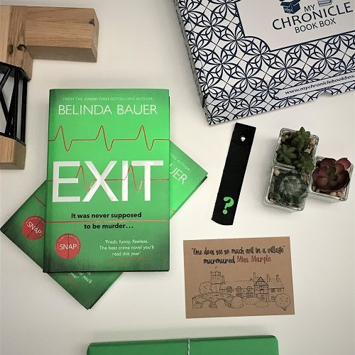 Exit Belinda Bauer Crime book subscription box
