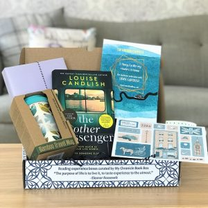 July 2020 - crime book box - The Other Passenger - Louise Candlish - sq