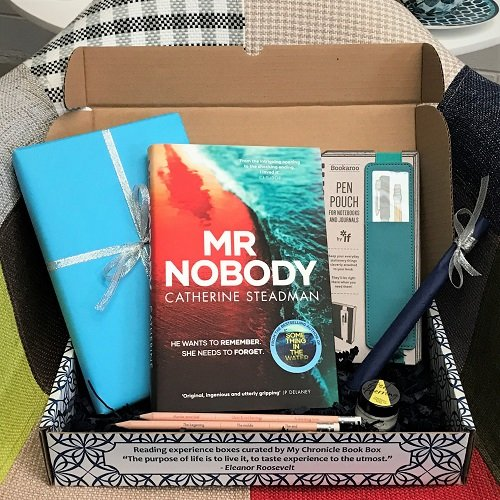 January monthly crime box Mr Nobody by Catherine Steadman