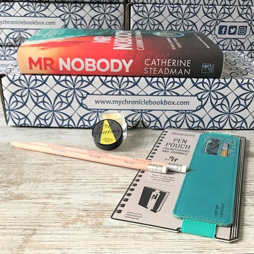 January monthly crime  box Mr Nobody by Catherine Steadman 2
