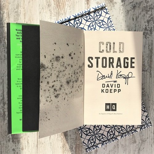 Cold Storage - David Koepp - signed