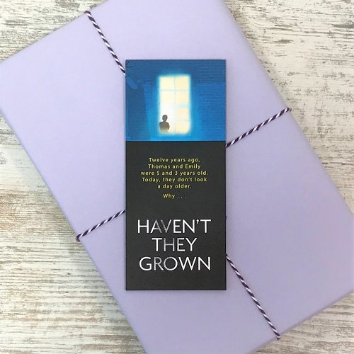 February 2020 - crime & mystery book box - Haven't They Grown - Sophie Hannah bookmark