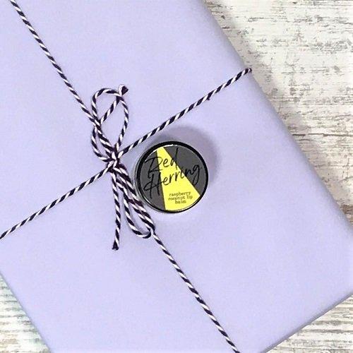 February 2020 - crime & mystery book box - Red Herring lip balm