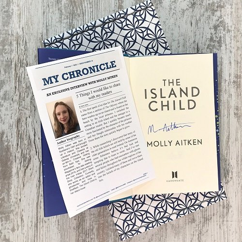 The Island Child - Molly Aitken - signed