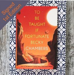To be Taught I Fortunate - Becky Chambers - corner