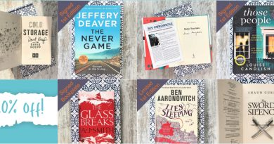 Home banner 20% off all books