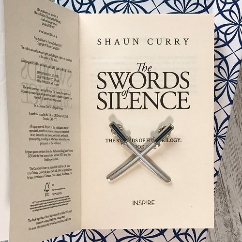 Swords of Silence - enamel pin