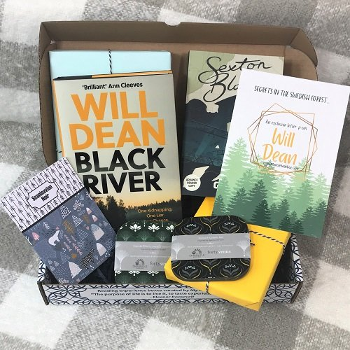 April 2020 crime book box Will Dean Black River 1