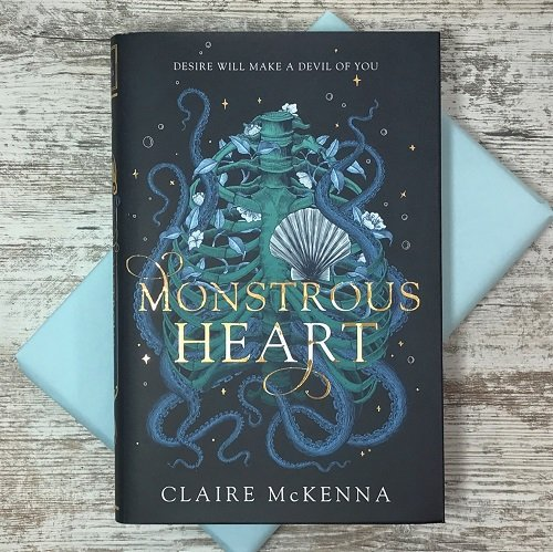 May 2020 scifi fantasy book box - Monstrous Heart - Claire McKenna