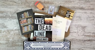 Crime monthly book box - June 2020 - The Dead Line by Holly Watt - wide