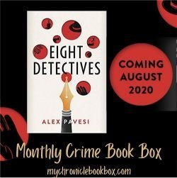 August 2020 crime book of the month - Eight Detectives - Alex Pavesi