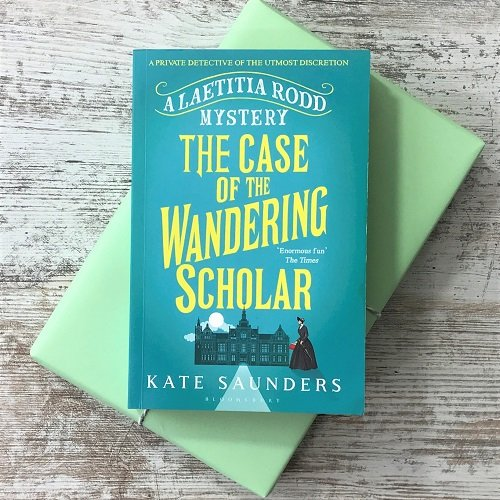 August 2020 - Crime & Mystery - The Case of the Wandering Scholar - Kate SAunders