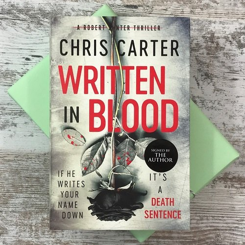 August 2020 - Crime & Mystery - Written in Blood - Chris Carter