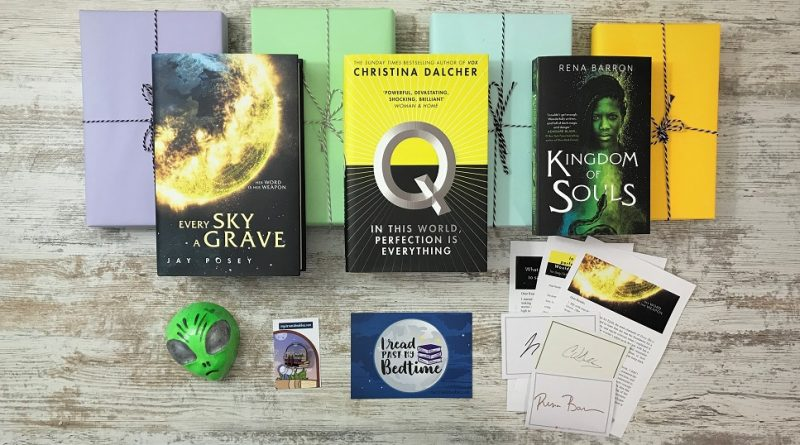 August 2020 - sci-fi & fantasy book box