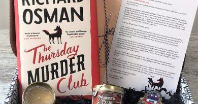 MCBB September crime book box - The Thursday Murder Club - Richard Osman