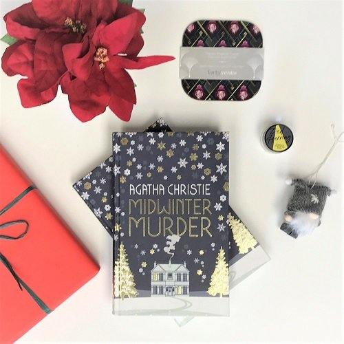 Christmas Book Box - Midwinter Murders - Agatha Christie v2