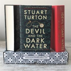 The Devil and the Dark Water - Stuart Turton - signed - Oct book box