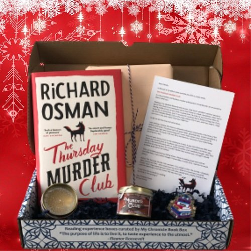 The Thursday Murder Club - Richard Osman - Christmas Book Box