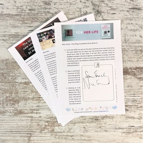 Author letters