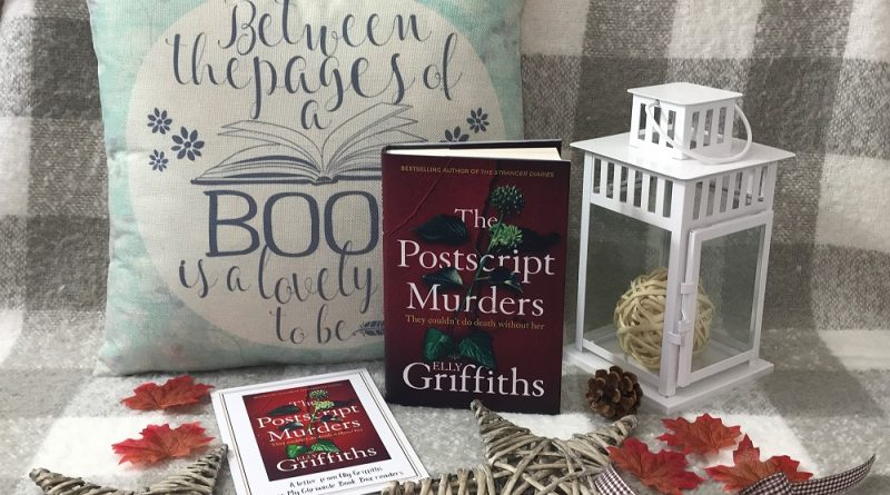 Monthly crime & mystery book box November 2020 The Postscript Murders Elly Griffiths