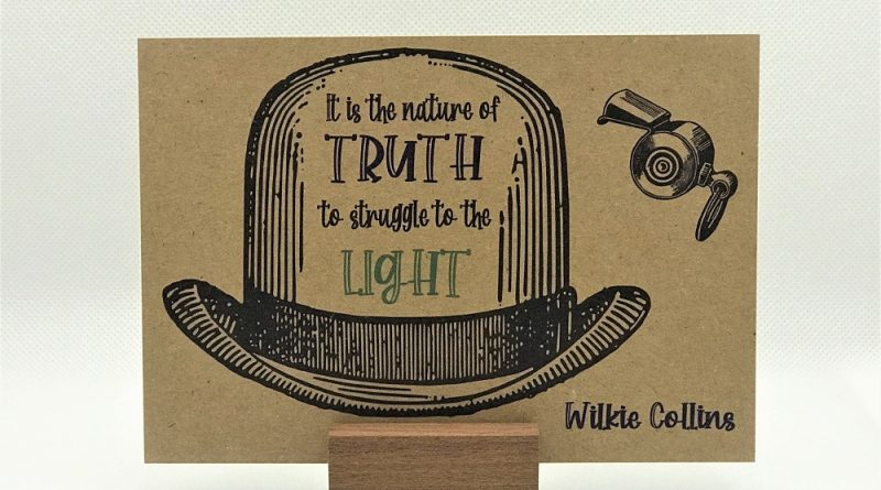 Collectable postcard #1 Wilkie Collins