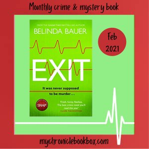 Exit Belinda Bauer book subscription box