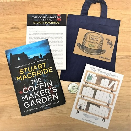 The Coffin Maker's Garden Stuart Macbride book subscription box