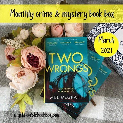 March theme Two Wrongs Mel McGrath