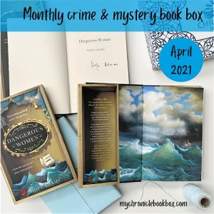 Monthly book subcription box product photo