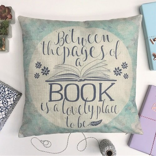 Cushion Cover 'Between the pages' 2