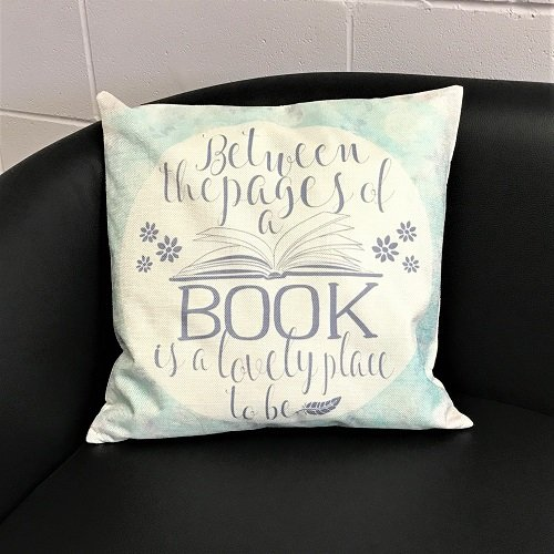 Cushion Cover 'Between the pages'