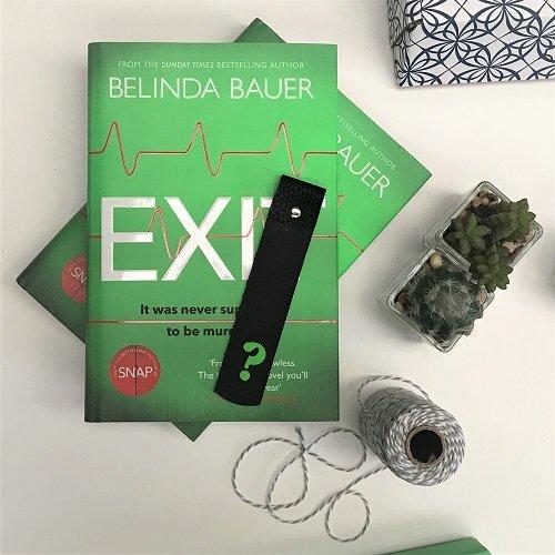 Exit Belinda Bauer crime book of the month 2