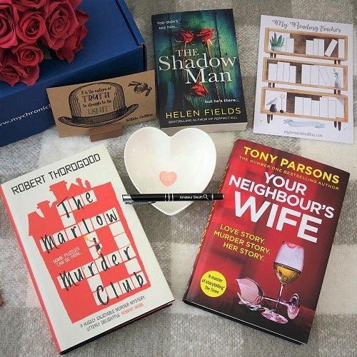 Feb 2021 Quarterly crime book box