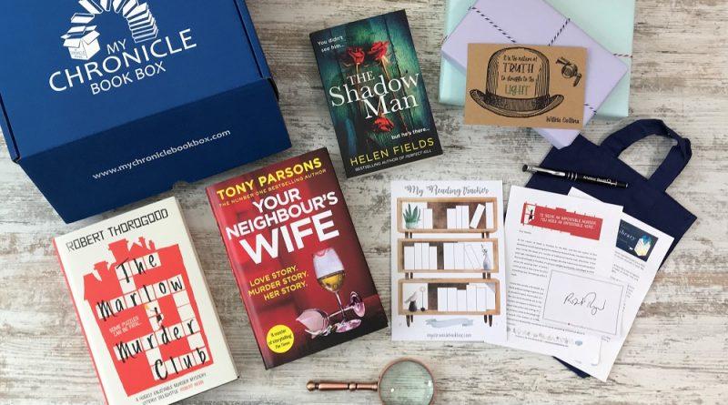 Feb 2021 - Quarterly crime book subscription box