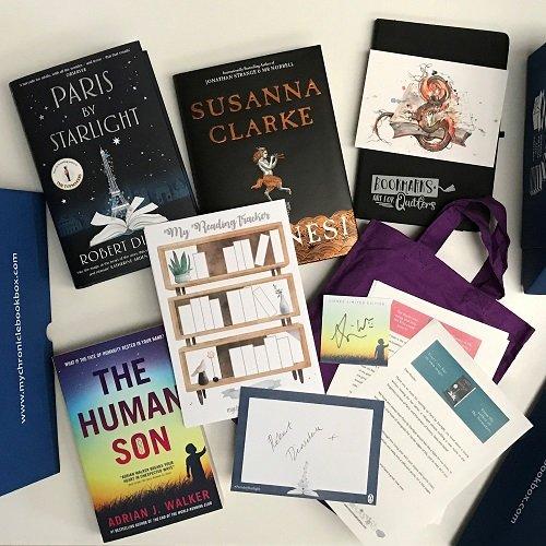 Feb 2021 - Scifi Fantasy book box