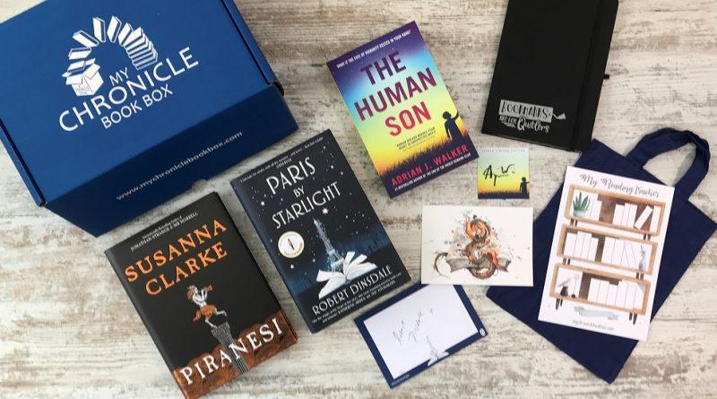 Scifi & fantasy book box February 2021