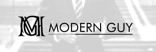 Modern Guy blog banner