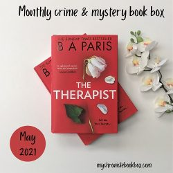 May crime & mystery The Therapist by B.A Paris