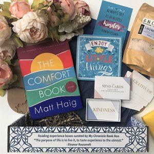 The Comfort Book - Matt Haig - Signed edition - book box
