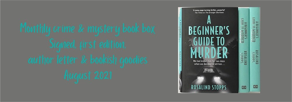 August crime book of the monthbanner
