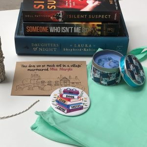 Crime & mystery book box May 2021 03
