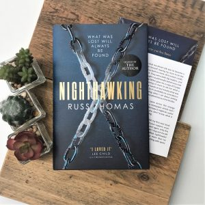Nighthawking by Russ Thomas with author letter