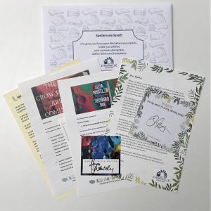 Author letters and signatures