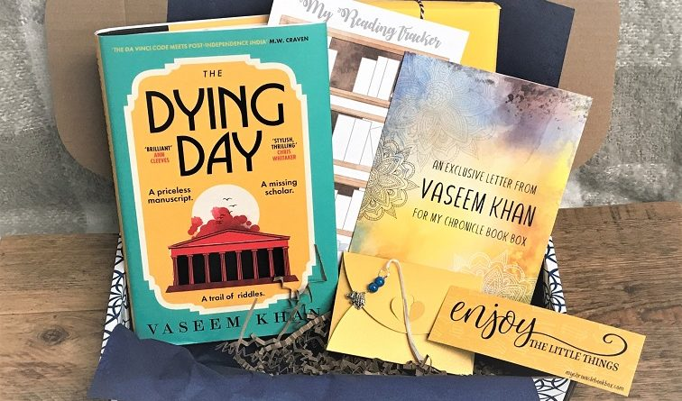 The Dying Day by Vaseem Khan July 2021 crime book box 2